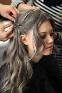 Пепельно темно русый цвет волос краска