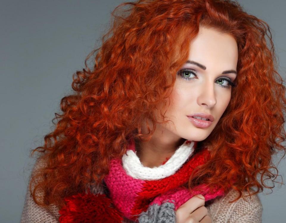 Как покрасить волосы в рыжий из красного. Рыжий цвет волос. Оттенки, краска, прически, макияж.