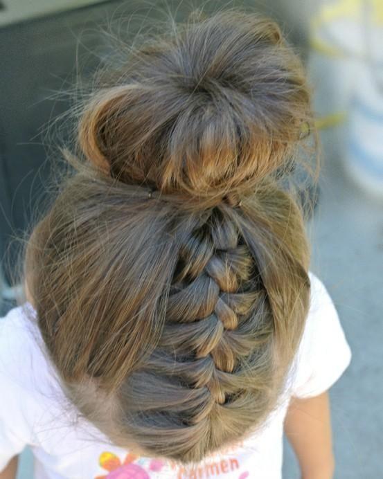 Fryzury Dziecięce Z Warkoczy Na Długie Włosy Fryzury Dla